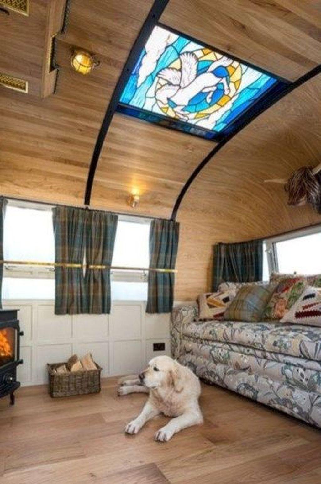 Fancy Rv Interior Design Ideas For Prepare Winter Holiday 31