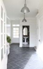 Fantastic Black Floor Tiles Design Ideas For Modern Bathroom 04