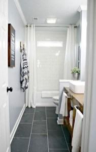 Fantastic Black Floor Tiles Design Ideas For Modern Bathroom 06