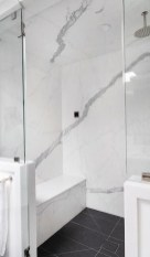 Fantastic Black Floor Tiles Design Ideas For Modern Bathroom 16