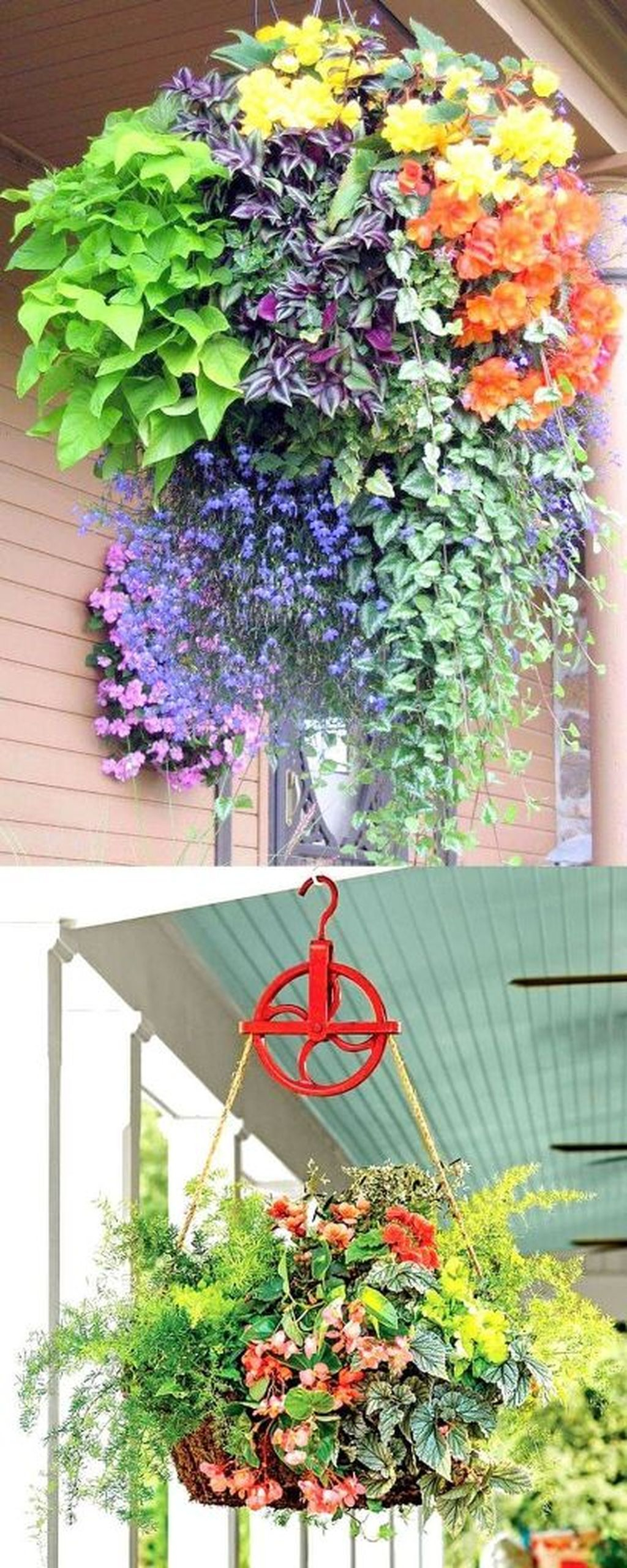 Favorite Home Patio Design Ideas With Best Hanging Plants 26