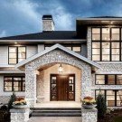 Glamorous Home Exterior Design Ideas That Look More Unique 34