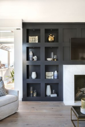 Inexpensive Home Cabinet Design Ideas For Cozy Family Room On A Budget 16