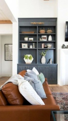 Inexpensive Home Cabinet Design Ideas For Cozy Family Room On A Budget 24