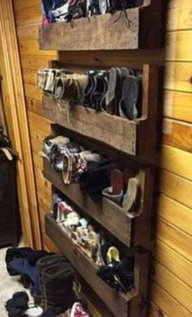 Luxury Antique Shoes Rack Design Ideas To Try Right Now 16