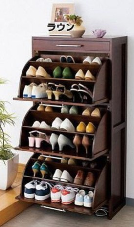 Luxury Antique Shoes Rack Design Ideas To Try Right Now 17