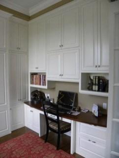Popular Home Office Cabinet Design Ideas For Easy Organization Storage 01