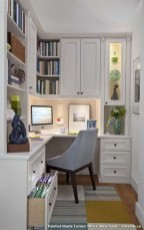 Popular Home Office Cabinet Design Ideas For Easy Organization Storage 04