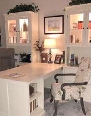 Popular Home Office Cabinet Design Ideas For Easy Organization Storage 06
