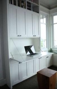 Popular Home Office Cabinet Design Ideas For Easy Organization Storage 28