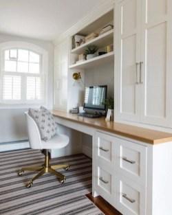 Popular Home Office Cabinet Design Ideas For Easy Organization Storage 31