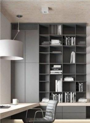 Popular Home Office Cabinet Design Ideas For Easy Organization Storage 36