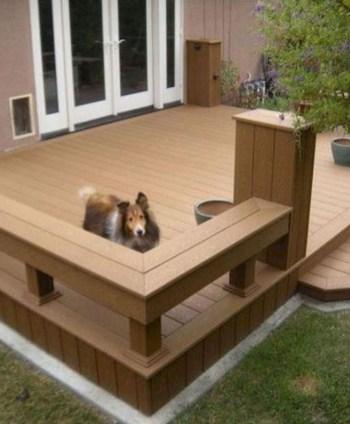 Superb Diy Wooden Deck Design Ideas For Your Home 12