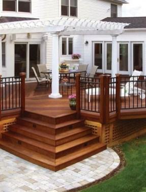 Superb Diy Wooden Deck Design Ideas For Your Home 24