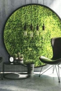 Delicate Natural Moss Wall Art Decorations Ideas To Try Right Now 12