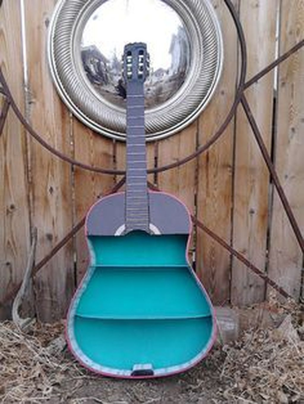 Dreamy Racks Design Ideas From Recycle Old Guitars To Try Asap 08