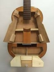 Dreamy Racks Design Ideas From Recycle Old Guitars To Try Asap 15