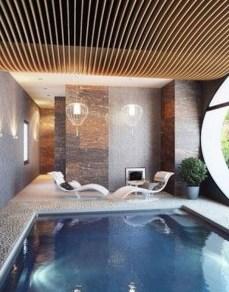 Elegant Black Swimming Pool Design Ideas That All Men Must Know 02