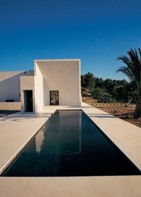 Elegant Black Swimming Pool Design Ideas That All Men Must Know 09