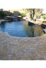 Elegant Black Swimming Pool Design Ideas That All Men Must Know 17