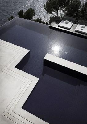 Elegant Black Swimming Pool Design Ideas That All Men Must Know 27