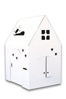 Enchanting Cardboard Playhouse Design Ideas For Kids That You Will Love It 01