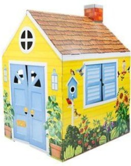 Enchanting Cardboard Playhouse Design Ideas For Kids That You Will Love It 02