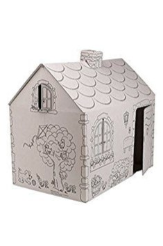 Enchanting Cardboard Playhouse Design Ideas For Kids That You Will Love It 11