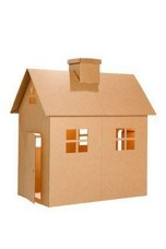 Enchanting Cardboard Playhouse Design Ideas For Kids That You Will Love It 14