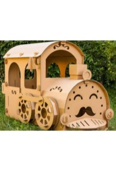 Enchanting Cardboard Playhouse Design Ideas For Kids That You Will Love It 21