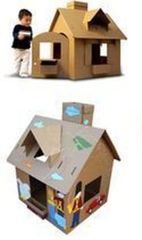 Enchanting Cardboard Playhouse Design Ideas For Kids That You Will Love It 22