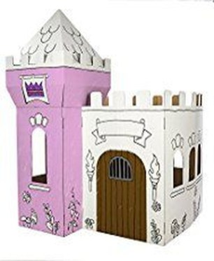 Enchanting Cardboard Playhouse Design Ideas For Kids That You Will Love It 24