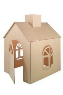 Enchanting Cardboard Playhouse Design Ideas For Kids That You Will Love It 29