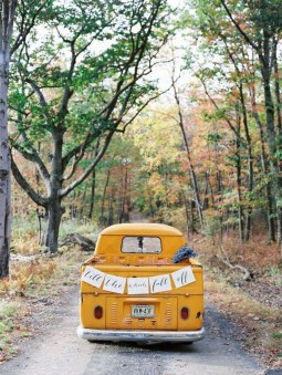 Gorgeous Wedding Theme Ideas With Vw Car Party To Have Right Now 14
