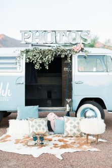 Gorgeous Wedding Theme Ideas With Vw Car Party To Have Right Now 21