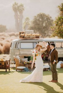 Gorgeous Wedding Theme Ideas With Vw Car Party To Have Right Now 28