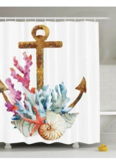 Inspiring Beach And Coral Themed Bathroom Design Ideas To Try Right Now 33
