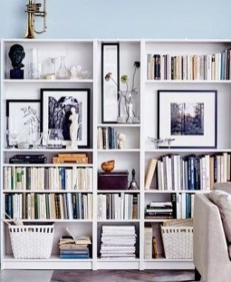 Latest Ikea Billy Bookcase Design Ideas For Limited Space That Will Amaze You 14