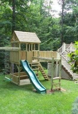 Magnificient Transform Backyard Design Ideas Into Kids Playground 18