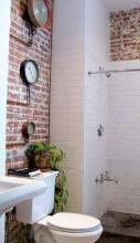 Modern Bathroom Design Ideas With Exposed Brick Tiles 03
