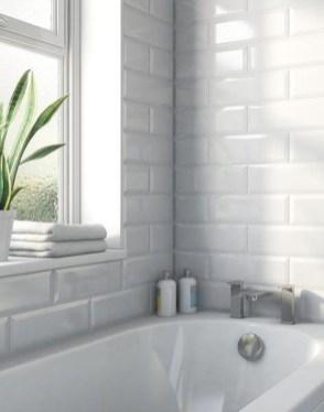 Modern Bathroom Design Ideas With Exposed Brick Tiles 06