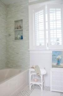 Modern Bathroom Design Ideas With Exposed Brick Tiles 11