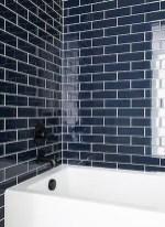 Modern Bathroom Design Ideas With Exposed Brick Tiles 15