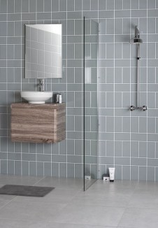 Modern Bathroom Design Ideas With Exposed Brick Tiles 23