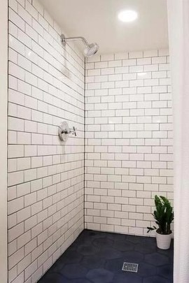 Modern Bathroom Design Ideas With Exposed Brick Tiles 25