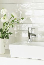 Modern Bathroom Design Ideas With Exposed Brick Tiles 27