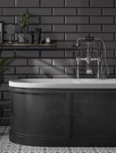 Modern Bathroom Design Ideas With Exposed Brick Tiles 30