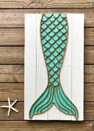 Newest Coastal Decorating Ideas With Rope Crafts To Try Right Now 30