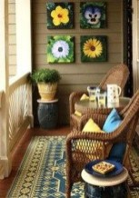 Relaxing Tiny Balcony Decor Ideas To Try This Month 01