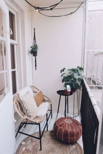 Relaxing Tiny Balcony Decor Ideas To Try This Month 07